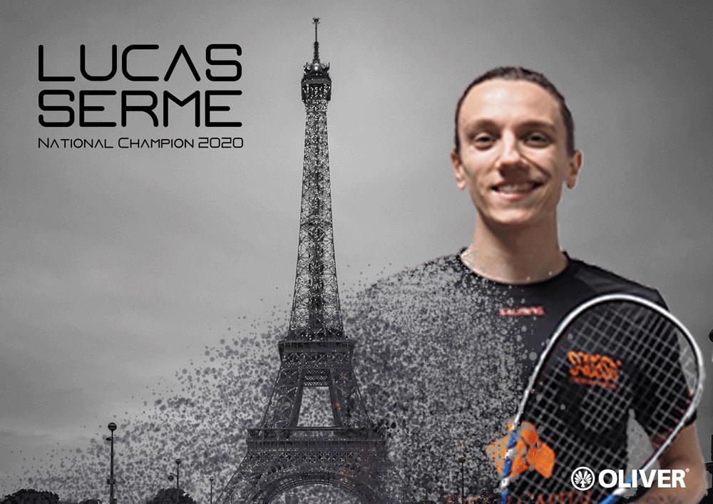 LUCAS SERME CHAMPION DE FRANCE 2020
