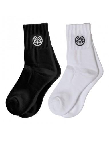 Chaussettes blanches et chaussettes noires OLIVER