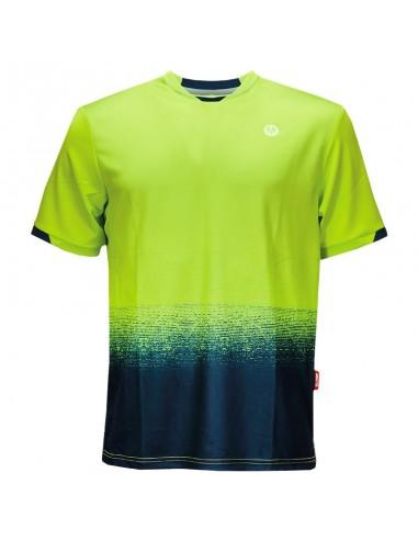 T-shirt Arona vert-bleu hommes